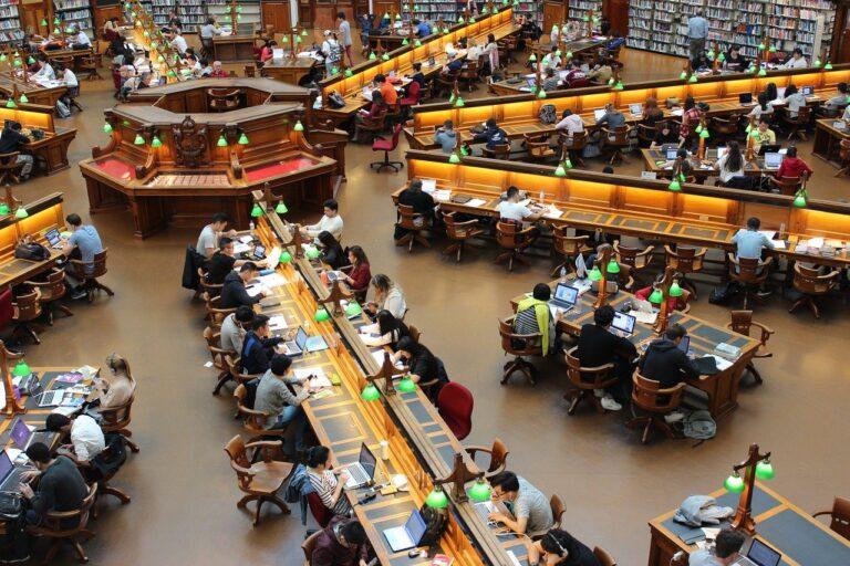 library, la trobe, study