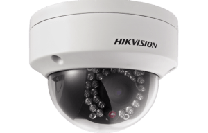 Hikvision Dome camera with vandal cover